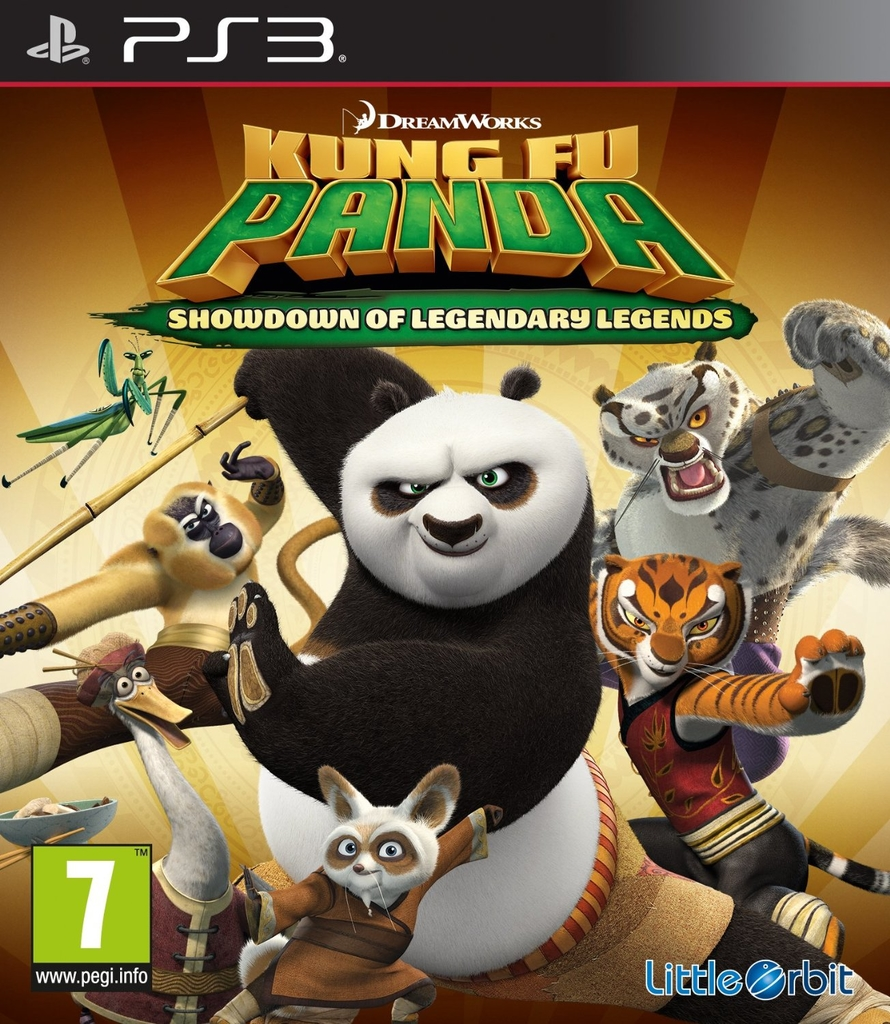 Kung Fu Panda: Showdown of Legendary Legends