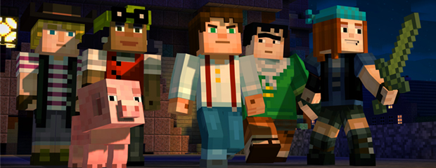 Minecraft: Story Mode header
