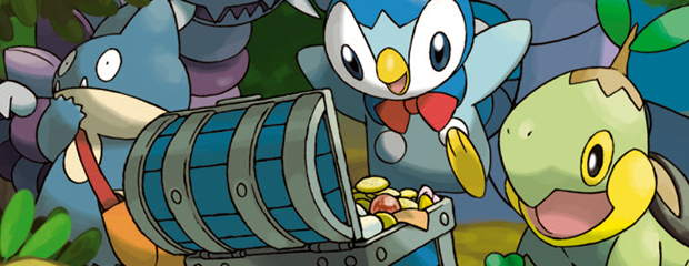 Pokémon Mystery Dungeon: Explorers of Time and Darkness header