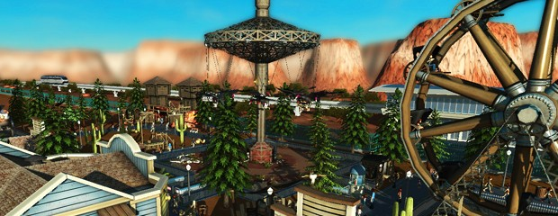 RollerCoaster Tycoon World header