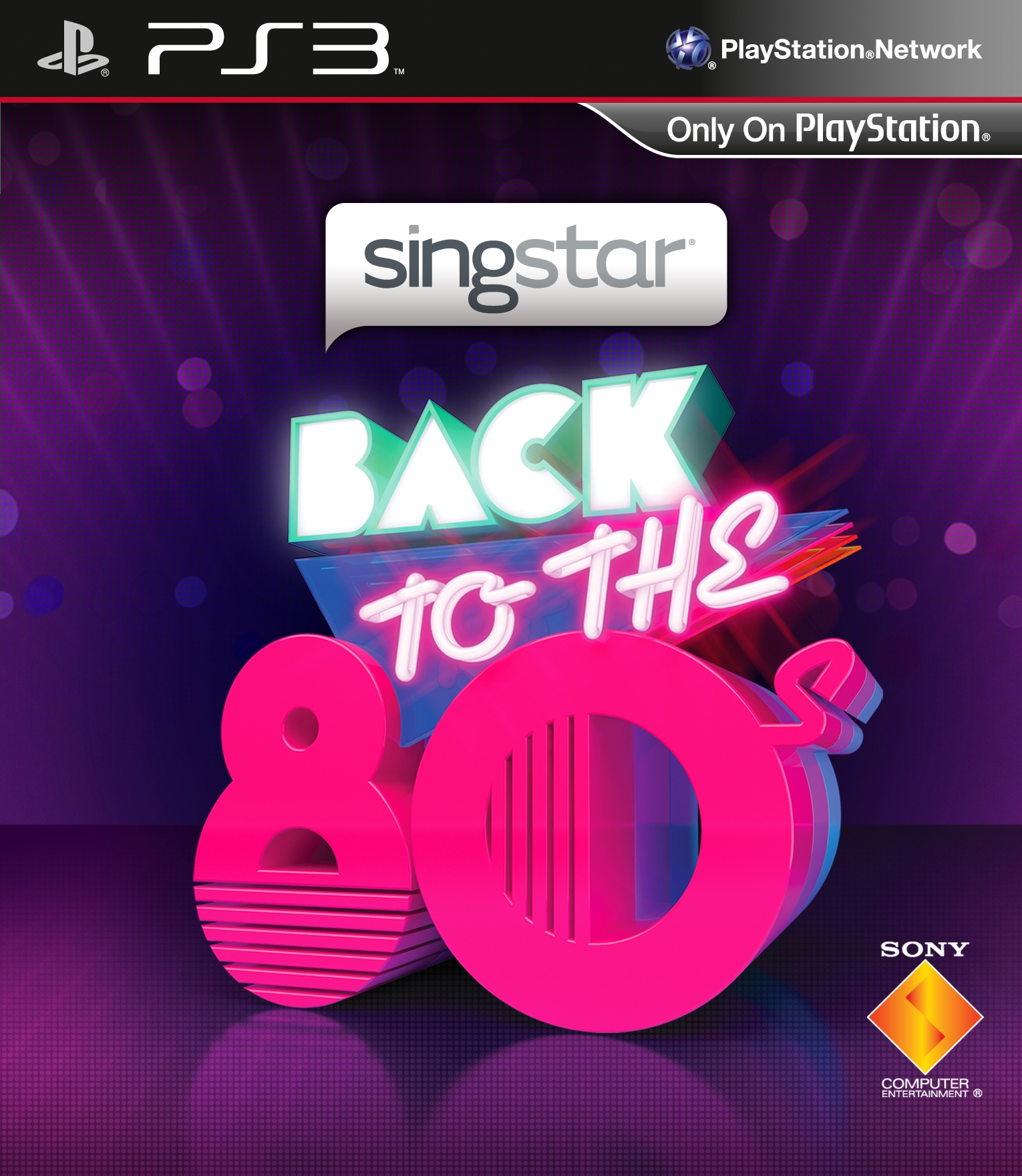 SingStar: Back to the 80's
