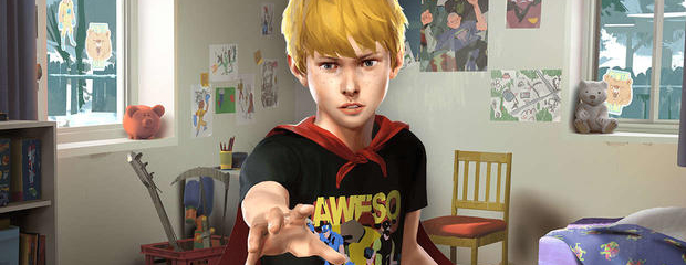 The Awesome Adventures of Captain Spirit header