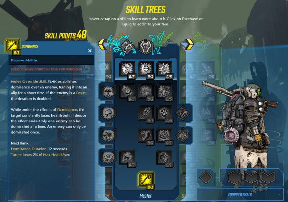 Borderlands 3 skill trees