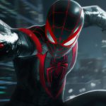 Spider-man Miles Morales slingert door launch trailer